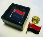 Ukraine Lapel or Tie pins (x2). OUN-UPA Flag w/Trezub design NEW!