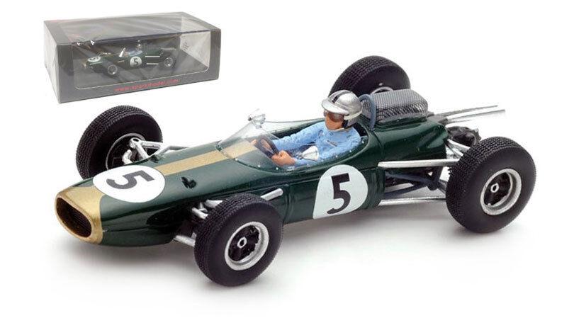 SPARK S5251 Brabham BT7 #5 Monaco GP 1964-Jack Brabham échelle 1/43 | Insolite