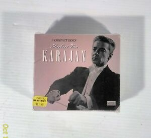 The-Karajan-Collection-Herbert-Von-Karajan-5-Disc-CD-Cox-Set-NEW-Sealed
