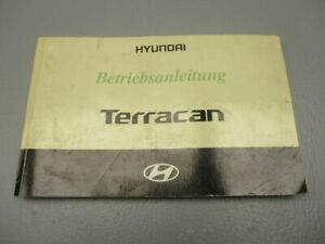 HYUNDAI TERRACAN (HP) 2.9 CRDI 4WD Bedienungsanleitung