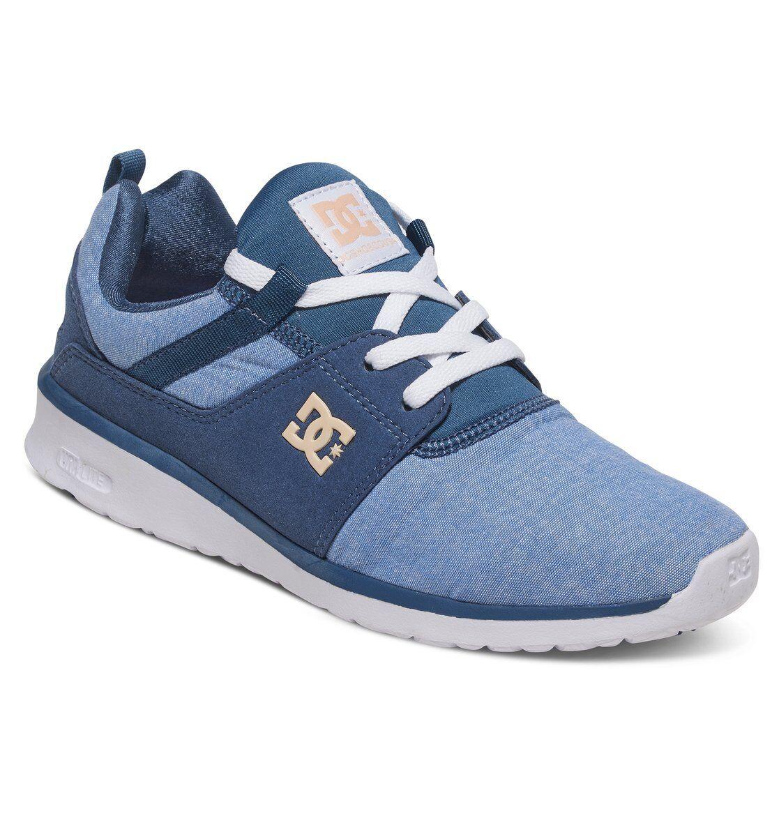 DC Schuhe Damenschuhe TRAINERS.NEW HEATHROW SE Blau SPORT ATHLETIC GYM Schuhe 7S/22/NWH