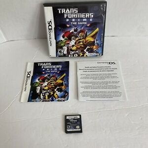 Transformers Prime: The Game (Nintendo DS, 2012)