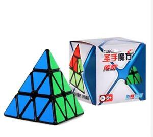 Shengshou-Legend-3x3-Pyraminx-Speed-Rubik-039-s-Cube-Black