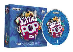 Zoom-Karaoke-Sixties-Pop-Box-152-Classic-60s-Karaoke-Hits-6-CD-G-Set-New