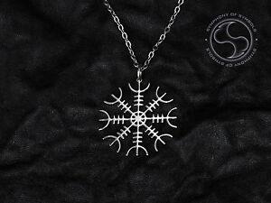 Aegishjalmur pendant viking symbol stainless steel jewelry helm of image is loading aegishjalmur pendant viking symbol stainless steel jewelry helm aloadofball Images
