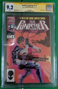 Punisher Limited Series #5 (Marvel Comics May 1986) CGC 9.2 SIGNED ZECK & BEATTY