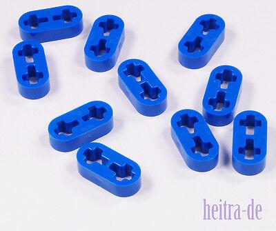 LEGO Technik - 10 x Liftarm dünn 1x2 blau / Blue Liftarm / 41677 NEUWARE (e12)