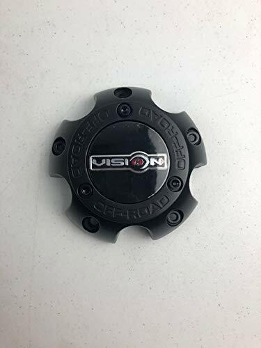 Vision Wheels C111MB-5V Matte Black Wheel Center Cap