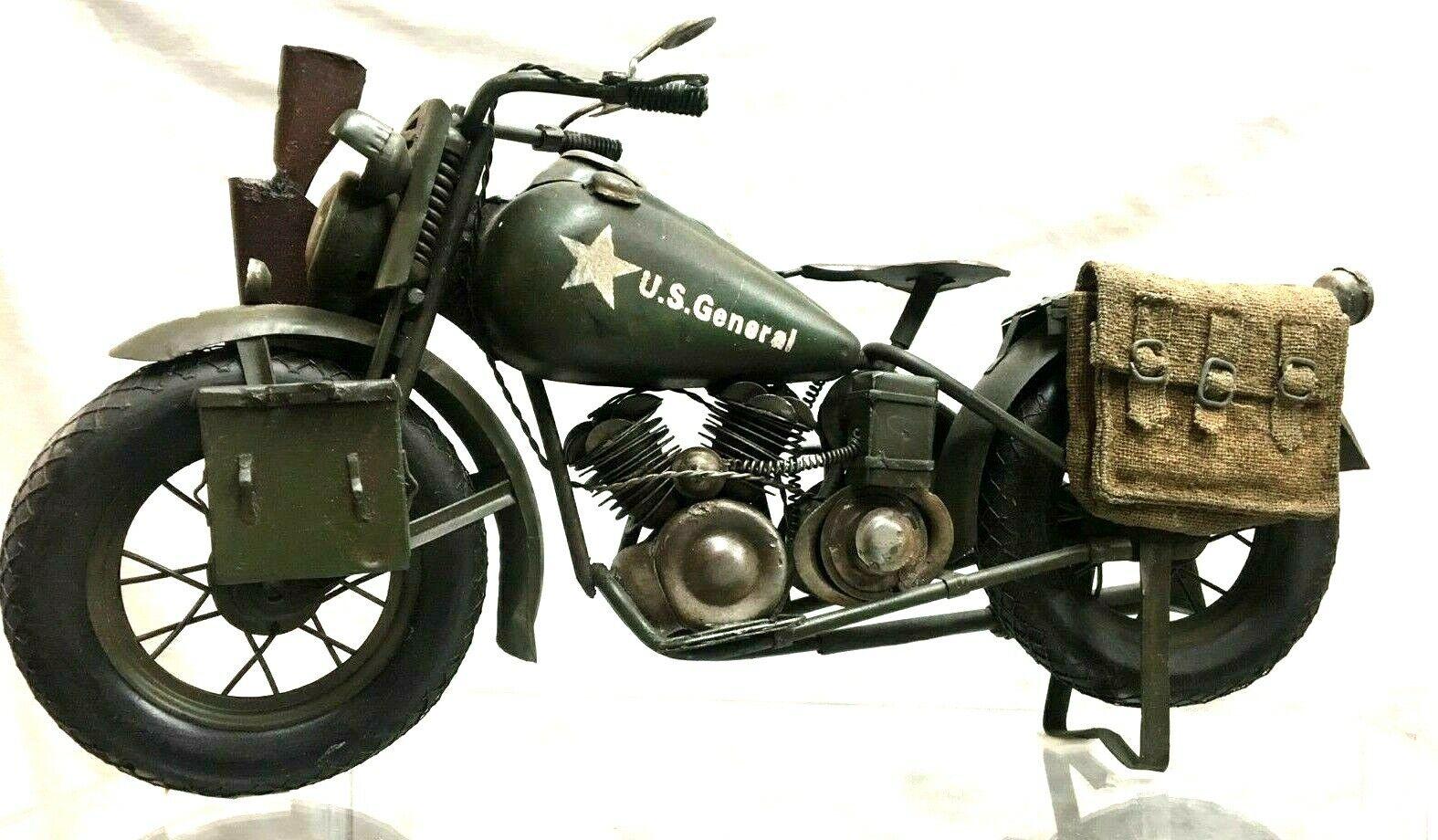 1 35 Costruzione Ww2 Us Army Harley Davidson Wla Motocicletta Lotto di Piccolo