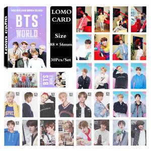 1Set-KPOP-Bangtan-Boys-Album-WORLD-OST-Lomo-Card-Photo-Card-PhotoCard
