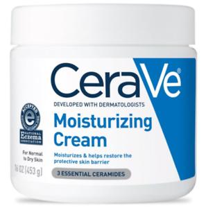 2 PACK!  CeraVe Moisturizing Cream, 16 oz (453 g)  NEW!!  LOW PRICE!!