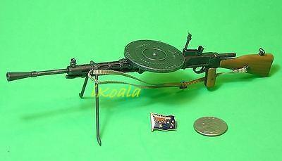 1:6 Scale Figure DRAGON WW2 SOVIET RUSSIAN LIGHT MACHINE GUN 70750 #2 DPM