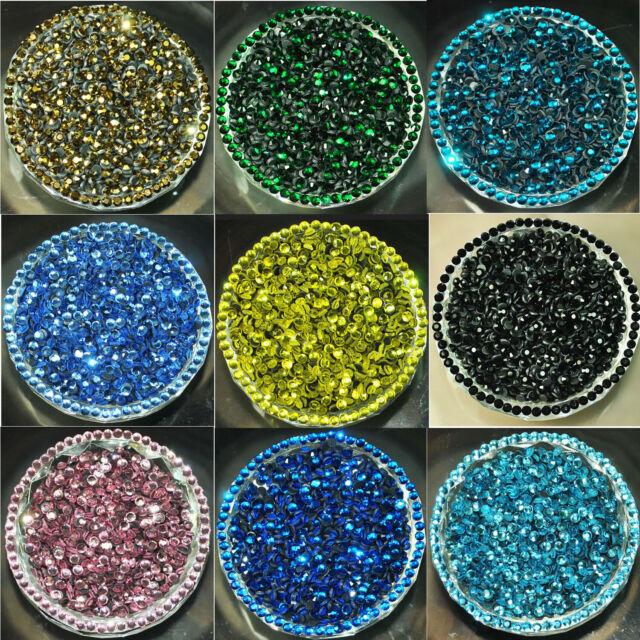1440pcs(10 Gross) Czech Crystal Rhinestones Top Quality Flatback DMC Iron Hotfix