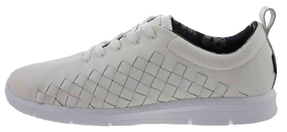 106317-405 Vans Tch0 Tesella Sneakers Cuir Blanc Eur 40,5