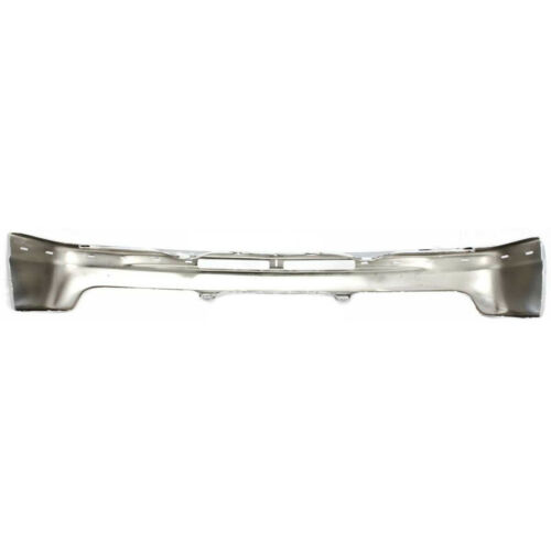 NEW Steel Front Bumper Kit W// Upper Cover Pad For 2000-2006 Chevy Suburban Tahoe