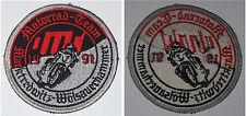 Aufnäher Patch Motorrad-Team 1991 Marktredwitz - Wölsauerhammer