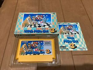 Super-Mario-Bros-3-BOX-and-Manual-Famicom-Japan-NES-Nintendo