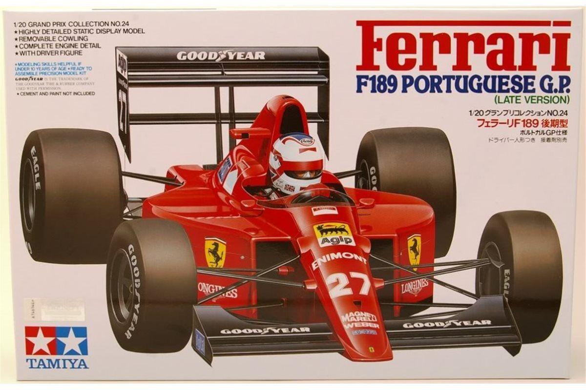 TAMIYA 20024 1 20 Ferrari F189 Portuguese GP
