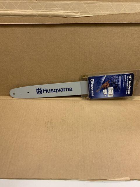 "Genuine Husqvarna 531300445 16"" HL180-56 Lo-Pro Chain Saw Bar 3/8"" x .050"""
