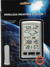 Weather Station with temperature, humidity & f/cast base on barometric pressure
