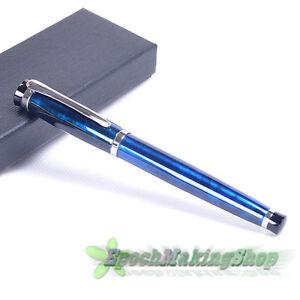 free-shipping-BAOER-508-FOUNTAIN-PEN-POLISHE-MAGIC-blue-M-NIB-new