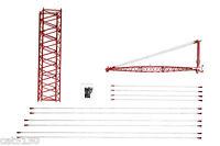 Manitowoc 4100w Crane Boom Extension & Jib Kit - 1/50 - Twh 051c-01125