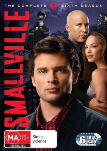 1 of 1 - Smallville : Season 6 (DVD, 2008, 6-Disc Set) Tom Welling, Kristin Kreuk