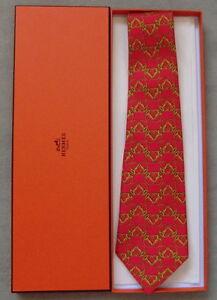 offrire il migliore volume grande Details about Original HERMES Krawatte/Cravatte/Tie NO 571 SA