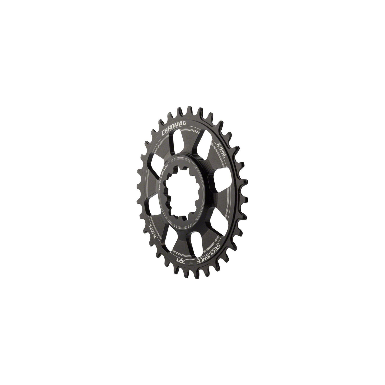 Chromag Sequence X-Sync Direct Mount Chainring: 32T, SRAM GXP