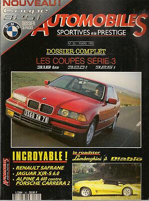Automobiles Sportives Et De Prestige 30 Alpine A610 Turbo 964c2 Jaguar Xjr-s 6.0