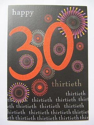 Funny 60th Birthday Card boy male son daughter humorous thirty thirtieth #1030