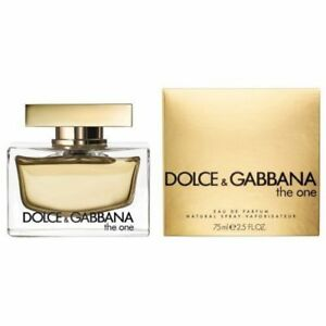 Dolce   Gabbana The One Eau De Parfum Spray for Women 75ml   eBay d4e921035d0e