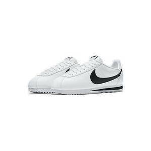Nike Classic Cortez Leather White Black Men Classic Shoes Sneakers 749571-100 g9fiOS