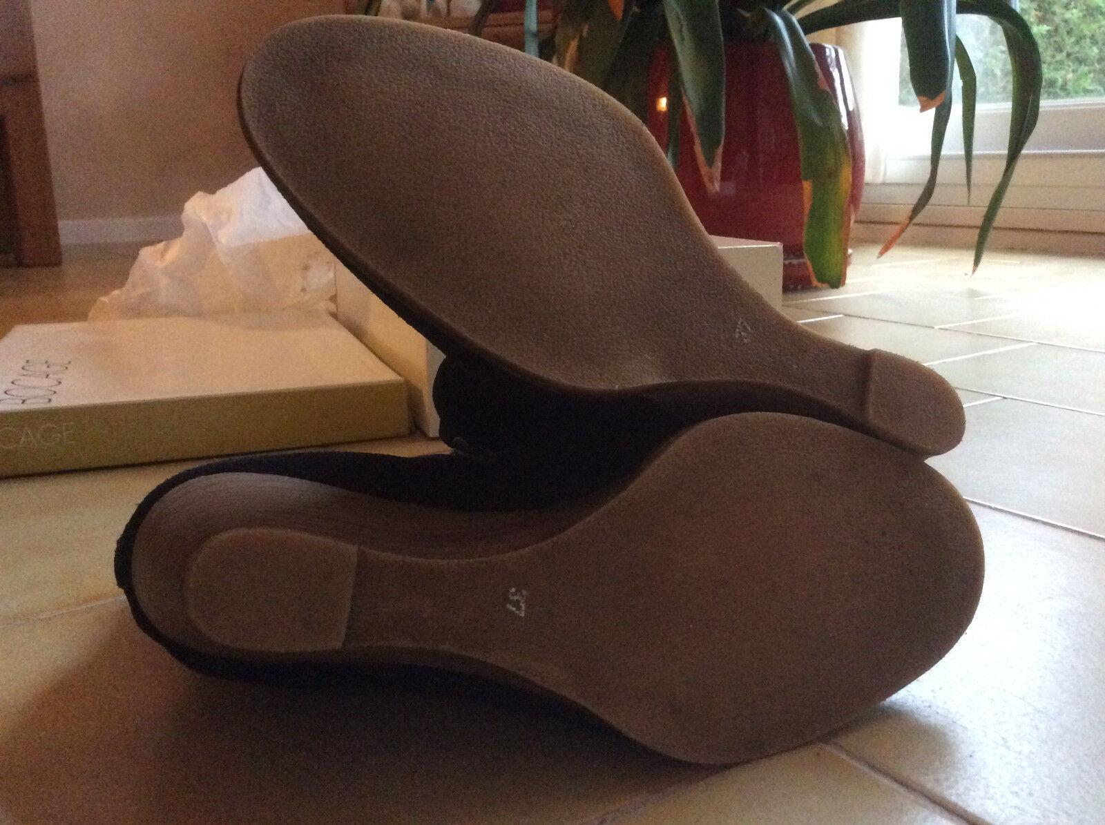 Bottines en cuir nubuck de la la la marque BOCAGE - NEUVES 23e72a