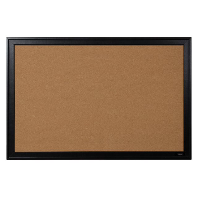 Corkboard Black 14 x 14 Cork Board Framed Bulletin Board Home Organization