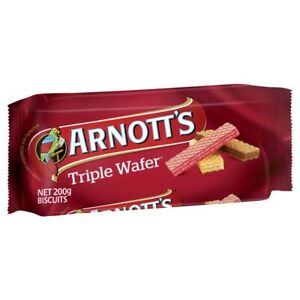 Arnott's Triple Wafer Biscuits 200g