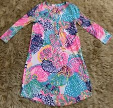 9bd365a897f827 item 2 Lilly Pulitzer Ali Dress XXS 100% Pima Cotton T Shirt 3/4 Sleeve  Roar of the Sea -Lilly Pulitzer Ali Dress XXS 100% Pima Cotton T Shirt 3/4  Sleeve ...