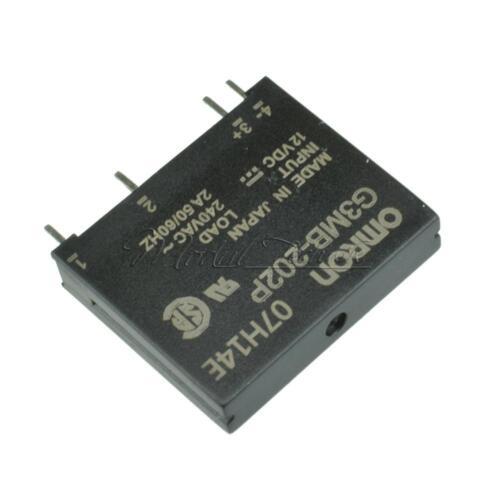 G3MB-202P DC-AC PCB SSR In 12VDC AC 2A Out 240V Solid State Relay Module New