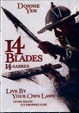 NEW MARTIAL ARTS DVD // 14 BLADES // Donnie Yen, Zhao Wei, Wu Chun, Kate Tsui