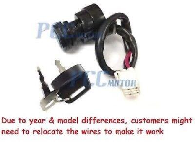 Ignition Key Switch YAMAHA RAPTOR 660 YFM660 2001 2002 2003 2004 2005 ATV M KS33
