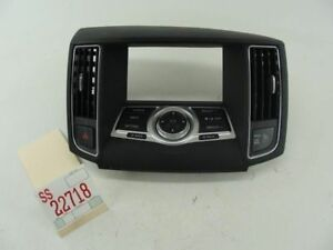 2012 MAXIMA DASH INFORMATION DISPLAY SCREEN RADIO SWITCH PANEL AC VENT TRIM