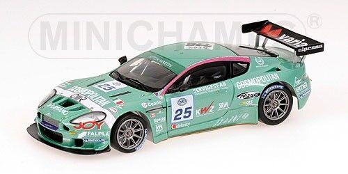 Aston Martin Dbrs9 Fia Gt3 Spa Francorchamps Alessi 2006 1 43 Model MINICHAMPS