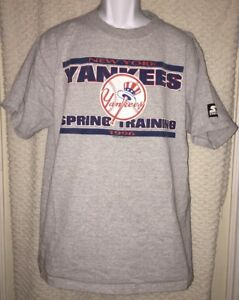 a48b0256e 1996 Vintage New York Yankees Spring Training T-shirt size adult XL ...