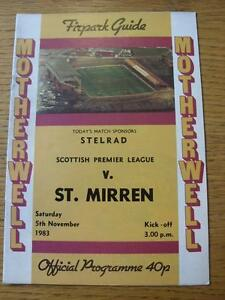 05-11-1983-Motherwell-v-St-Mirren-No-apparent-faults