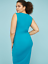 Lane-Bryant-Built-In-Smoothing-Slip-Ruched-Sheath-Dress-18-22-24-26-28-2x-3x-4x thumbnail 2
