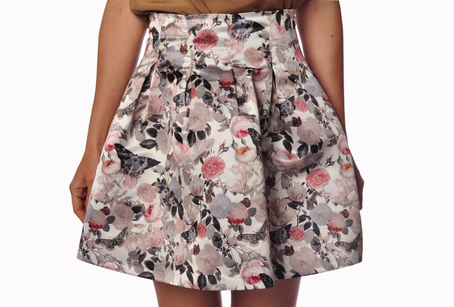 Mercì - Skirts-Skirts mini-skirts - woman - Grey - 786517C184239