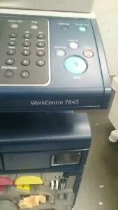 Details about xerox work centre 7845/with advance finisher