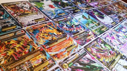 Pokemon TCG 100 CARD LOT Rare Common Uncommon GUARANTEED EX RARES /& HOLO CARDS