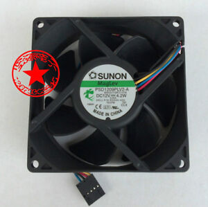 fan For SUNON PSD1209PLV2-A 90mm 9032 DC 12V 4.2W 4-wire WC236-A00