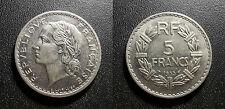IIIème République - 5 francs Lavrillier 1935